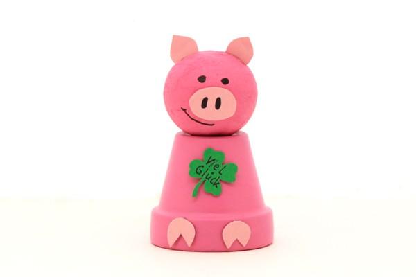Das Glücksschwein - Kinderbastel-Set