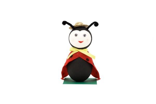 Der Marienkäfer - Kinderbastel-Set